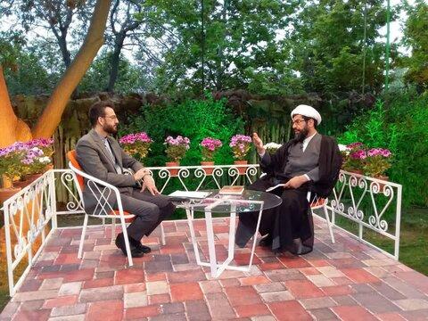 حجت الاسلام ابوطالبی در برنامه ضیافت شبکه قرآن
