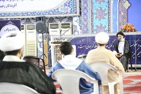 تصاویر/ دیدار جمعی از مبلغین مدارس موسسه راه ایمان با نماینده ولی فقیه در خوزستان