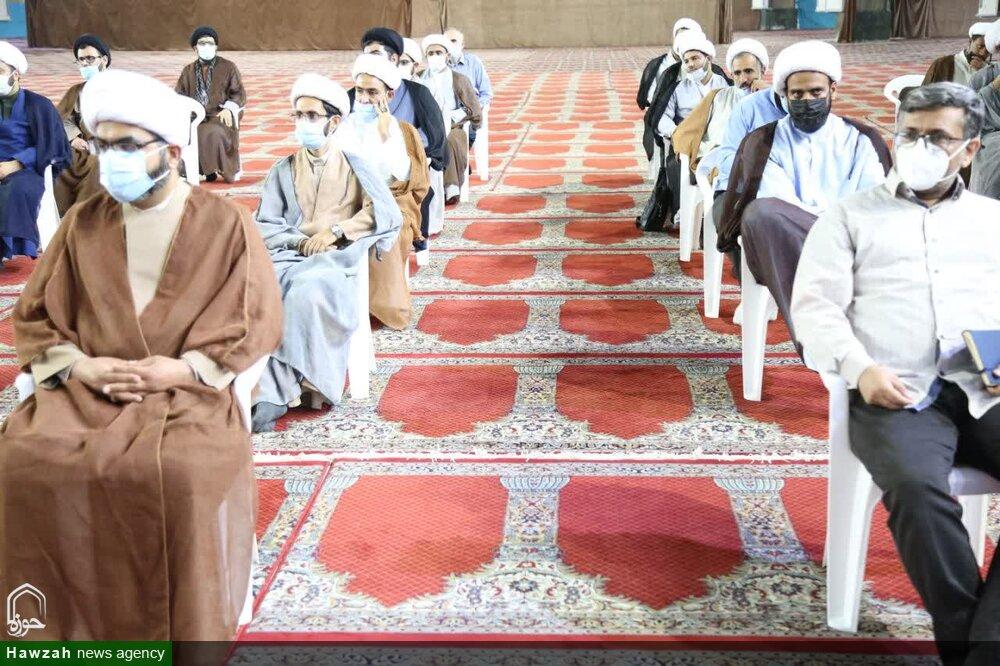 دیدار جمعی از مبلغین مدارس موسسه راه ایمان با نماینده ولی فقیه در خوزستان+عکس
