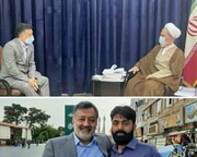Moulana Imran Reza Ansari visits Iran