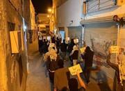 مردم بحرین در همبستگی با زندانیان انقلابی تظاهرات کردند + تصاویر