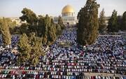 ۶۰ ألف مصل بالأقصى في الجمعة الثانية من شهر رمضان