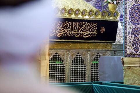 تصاویر/ حال و هوای حرم حضرت فاطمه معصومه(س) در شب وفات حضرت خدیجه
