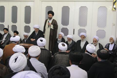 تصاویر آرشیوی/ دیدار اساتید با آیت الله العظمی فاضل لنکرانی (ره) در اردیبهشت ماه 1385