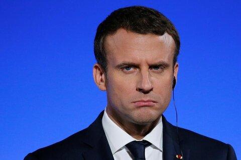 French idiot President Emmanuel Macron repeats Islamophobic sentiments