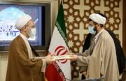 تصاویر/ مراسم تودیع و معارفه مسئول دفتر تدوین متون درسی حوزههای علمیه