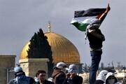 """تبریک جوانان بحرینی به فلسطینیها برای """"انتفاضه جدید رمضانی"""""""