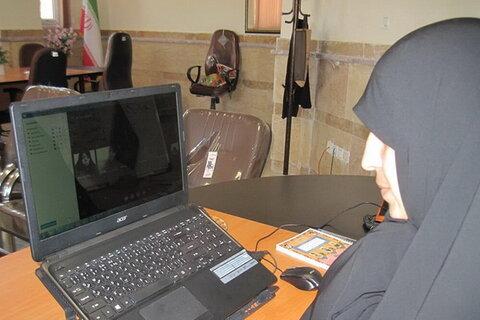 شرکت بانوان طلبه در نشست مجازی