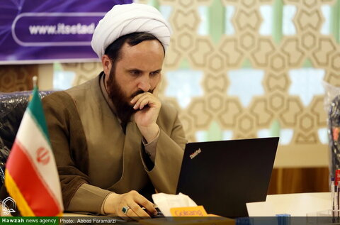 بالصور/ اجتماع الناشطين في مجال الذكاء الاصطناعي والعلوم الإسلامية بقم المقدسة
