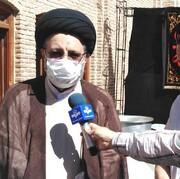 ۱۴ هزار پرس غذای گرم در جوار امامزاده سیدحمزه تبریز توزیع شد