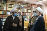 تصاویر/ بازدید نماینده ولی فقیه در استان کردستان از حوزه علمیه خواهران کامیاران