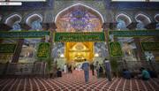 بالصور/ هكذا يستقبل مرقد الامام الحسين (ع) ذكرى ولادة كريم اهل البيت الامام الحسن (ع)