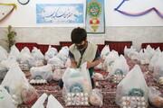 توزیع ۱۰۰ بسته معیشتی بین نیازمندان رومشکان لرستان