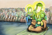 """Hassan and Hussain (pbut) are the masters of the youths of paradise,"" the Prophet of Islam"