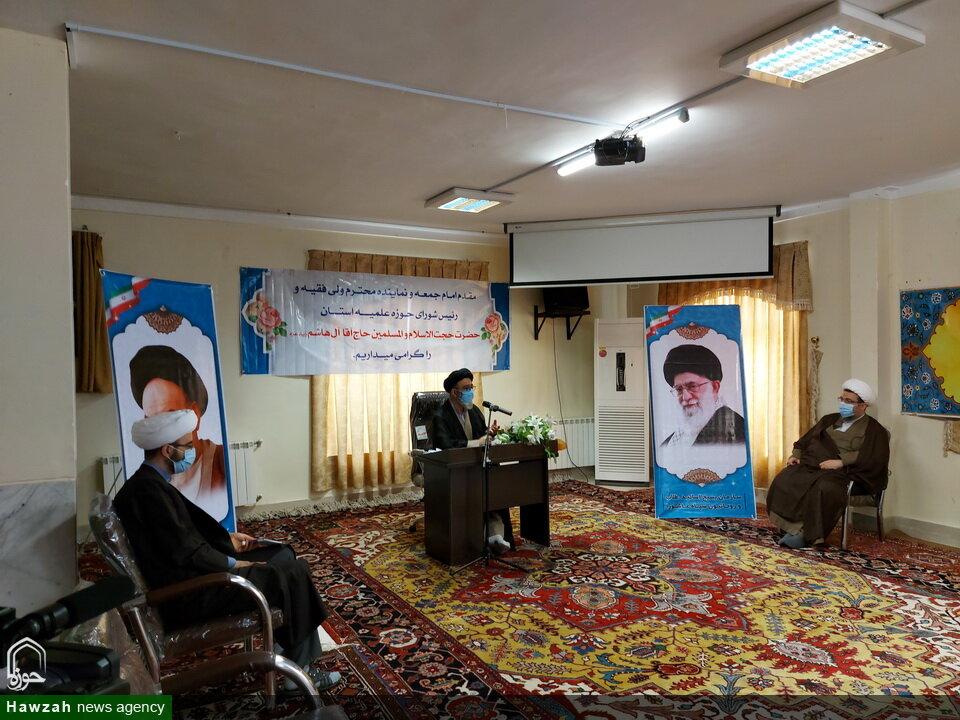 تصاویر / مراسم معارفه سرپرست جدید مدرسه علمیه حضرت ولیعصر(عج) تبریز