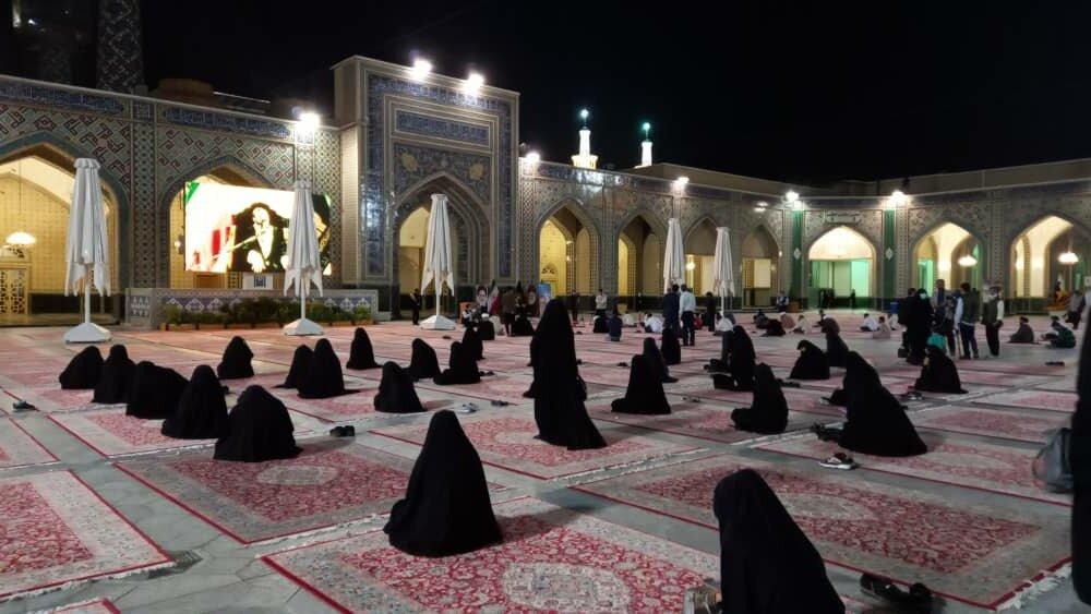 روضۂ منورہ حضرت امام علی رضا (ع) میں تمام ہندوستانیوں کی کرونا وبا سے نجات کے لئے استغاثہ و توسل
