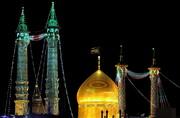 تصاویر/ حال و هوای حرم حضرت فاطمه معصومه(س) در شب میلاد امام حسن مجتبی(ع)