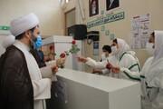 تصاویر/ تقدیر مدیر حوزه علمیه کردستان از کادر درمان بیمارستان توحید سنندج