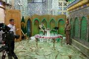 تصاویر/ ضبط برنامه سحرگاهی ماه مبارک رمضان شبکه قم