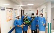 کلیپ   حضور طلاب جهادی در موج چهارم کرونا در بیمارستان های قم