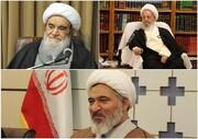 احوالپرسی تلفنی مدیر حوزه های علمیه خواهران از آیات عظام مکارم شیرازی و مظاهری