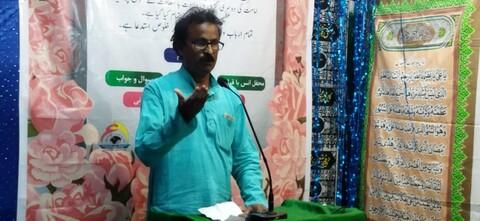 حوزہ علمیہآیۃ اللہ خامنہ ای،بھیک پور،بہار میں، طرحی محفل مقاصدہ