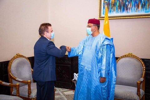 دیدار سفیر ایران در نیجر با رییس جمهور این کشور