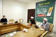 تصاویر/ نشست خبری معرفی نرم افزار نهج البلاغه همراه مرکز کامپیوتری نور