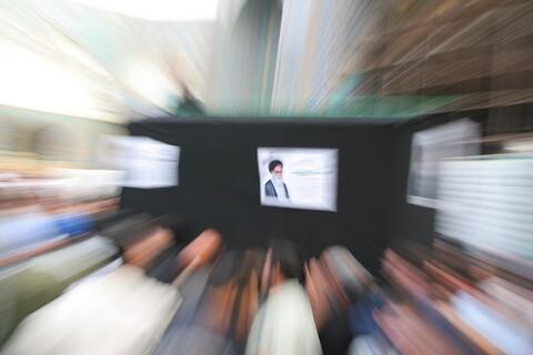 تصاویر آرشیوی از مراسم تشییع پیکر مرحوم آیت الله محمدعلی حسینی تهرانی در اردیبهشت ماه ۱۳۸۵