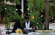 تصاویر/ احیای شب بیست و یکم ماه مبارک رمضان در گلزار شهدای قم