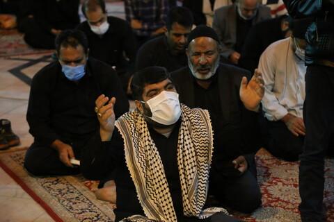 تصاویر / مراسم احیاء شب بیست ویکم ماه رمضان در حرم حضرت معصومه (س)