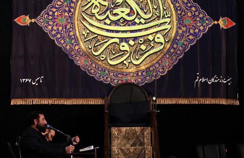 تصاویر/ احیای بیست و یکم ماه مبارک رمضان در گلزار شهدا قم