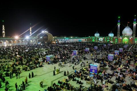 تصاویر/مراسم احیای شب بیست و یکم ماه مبارک رمضان در مسجد مقدس جمکران