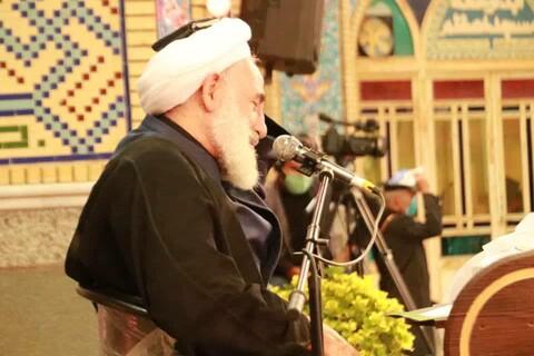 تصاویر/ مراسم  احیای شب بیست ویکم ماه مبارک رمضان درآستان مقدس محمد هلال بن علی (ع) آران وبیدگل