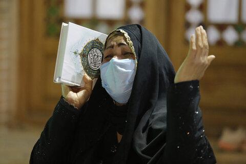 تصاویر / شب زنده داری مردم استان قزوین در دومین شب قدر