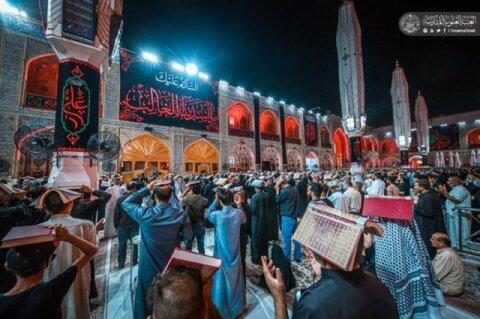 احیای شب بیست و یکم  ماه رمضان در حرم حضرت امیرالمومنین (علیه السلام)