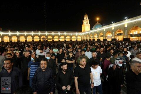 احیای شب قدر و عزاداری شهادت مولای متقیان امیرمومنان (ع) در مسجد کوفه