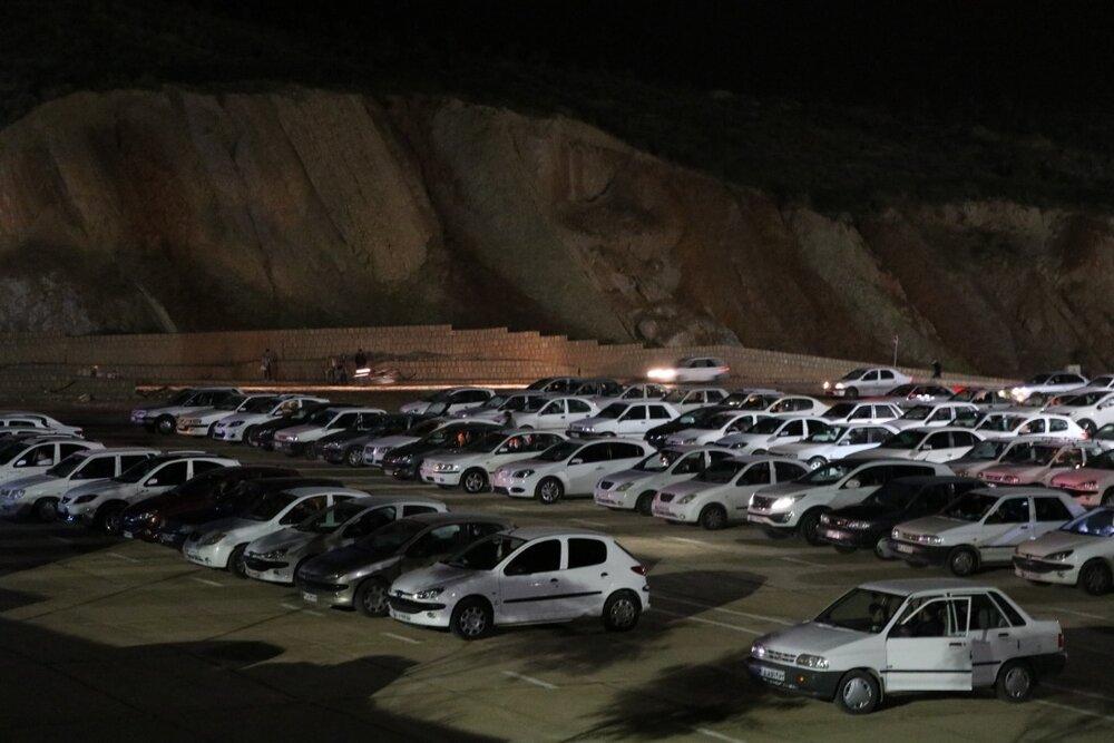 تصاویر/ مراسم خودرویی شب قدر در پارک کوهستانی دراک شیراز