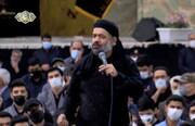 فیلم | چهارپایه خوانی حاج محمود کریمی در حرم امام رضا(ع)