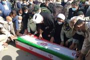 پیکر شهید «نامور» در قروه تشییع شد