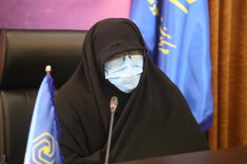 تصاویر/ نشست خبری با اصحاب رسانه با موضوع  پذیرش سراسری حوزه های علمیه خواهران