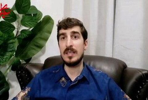مسلم عمران رئیس مرکز فرهنگی فلسطین در مالزی