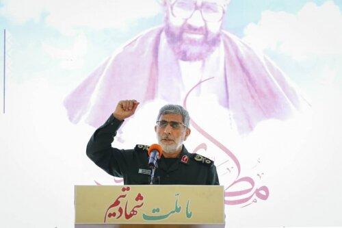 نیروی قدس الگو و شاخص مجاهدان و علاقمندان فرهنگ مقاومت است