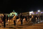 تصویر/ برگزاری مراسم لیالی قدر در فضای باز شهر بوشهر