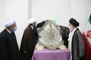 تصاویر / رونمایی از کتاب فلسطین فی وجدان علماء الاسلام با حضور آیت الله حسینی بوشهری