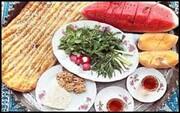 سفره افطاری یک خیر سی سختی برای روحانیون مبلغ