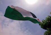 پرچم فلسطین در آستانه روز قدس در قم به اهتزاز درآمد
