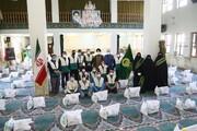 تصاویر / توزیع ۶۰۰ بسته معیشتی ماه رمضان توسط خادمیاران رضوی