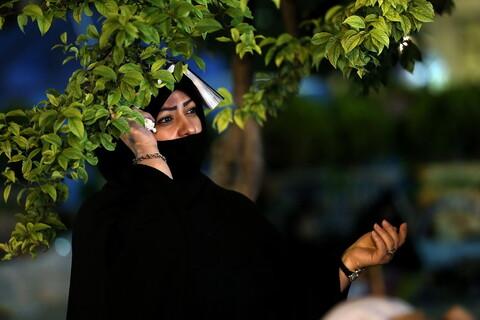 تصاویر / مراسم احیای شب بیست و سوم ماه رمضان در حرم حضرت معصومه (س)