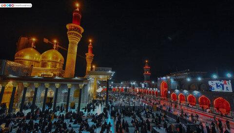 احیای شب قدر در حرم امامین کاظمین (علیهما السلام)